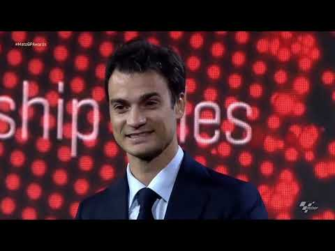 FIM MotoGP ™ Awards 2018 -Dani Pedrosa emotional