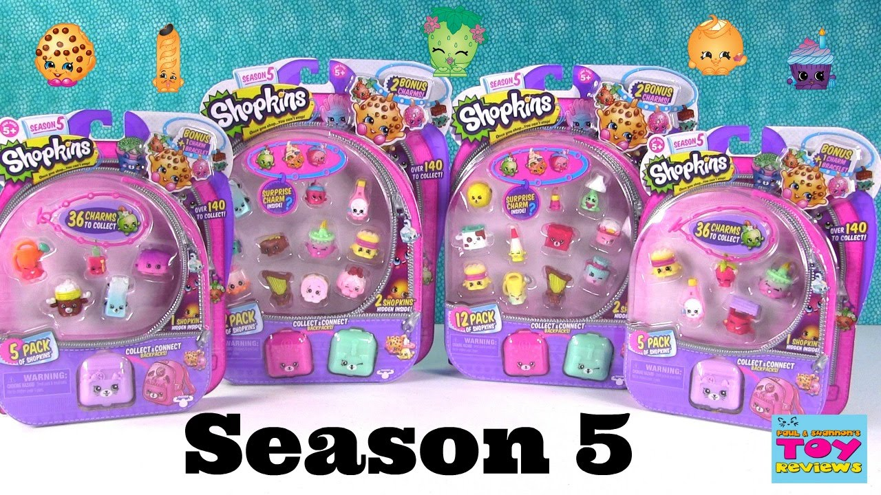 Shopkins Season 5 Limited Edition Hunt 12 Pack Opening
