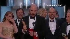 'Moonlight' or 'La La Land'? Best Picture Mix-up at Oscars