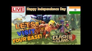 Free base review || COC || Live and Clan games