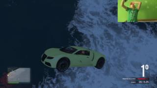 GTA 5 ONLINE GARA STUNT GAMEPLAY