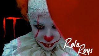 ОНО 2017📍 Пеннивайз 😱🎈 Stephen King's IT 2017📍 Pennywise Makeup Tutorial📍Rola Roys
