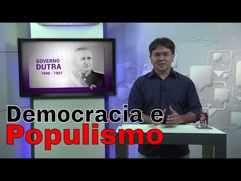 História - Período Democrático e Populista 1/2