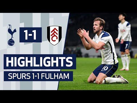 HIGHLIGHTS   SPURS 1-1 FULHAM