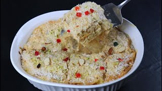 Umm ali (famous egyptian dessert)   Arabian/ egyptian Bread Pudding   Umm Ali by Snacks Break
