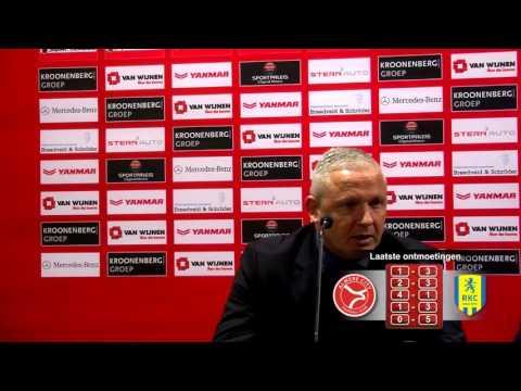 Persconferentie AlmereCityFC - RKC Waalwijk