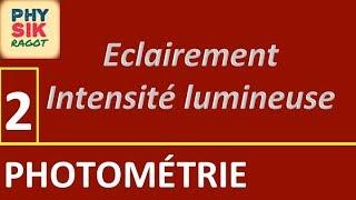 Photométrie (Partie 2)