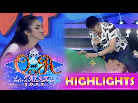 It's Showtime Miss Q & A: Vice Ganda Jokes About Miss Q And A Candidate, Ysa Bongkang Madrigal