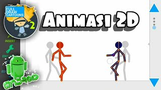 Çizim TAM Çizgi film 2D Animasyon Di HP Android nasıl - - Bahasa Endonezya #1