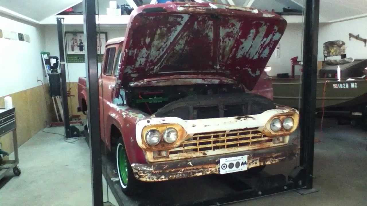 hight resolution of wiring a 1957 60 ford f100 pickup truck