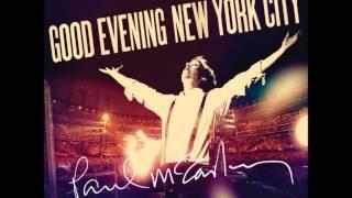 paul mccartney good evening new york city track 04 flaming pie