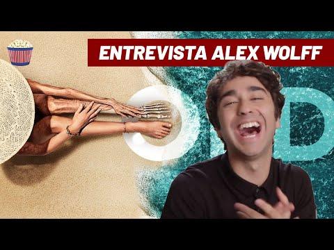 HILÁRIO! Alex Wolff dá um show e fala sobre #Tempo
