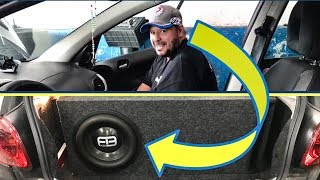 Emocionando Cliente com FB Audio 12 pol 850W num Peugeot by Felipe Nanba
