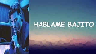 Abraham Mateo - Hablame Bajito - Letra