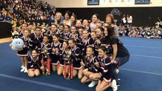 CYO Cheerleading: Our Lady Star of the Sea celebrates Debs crown