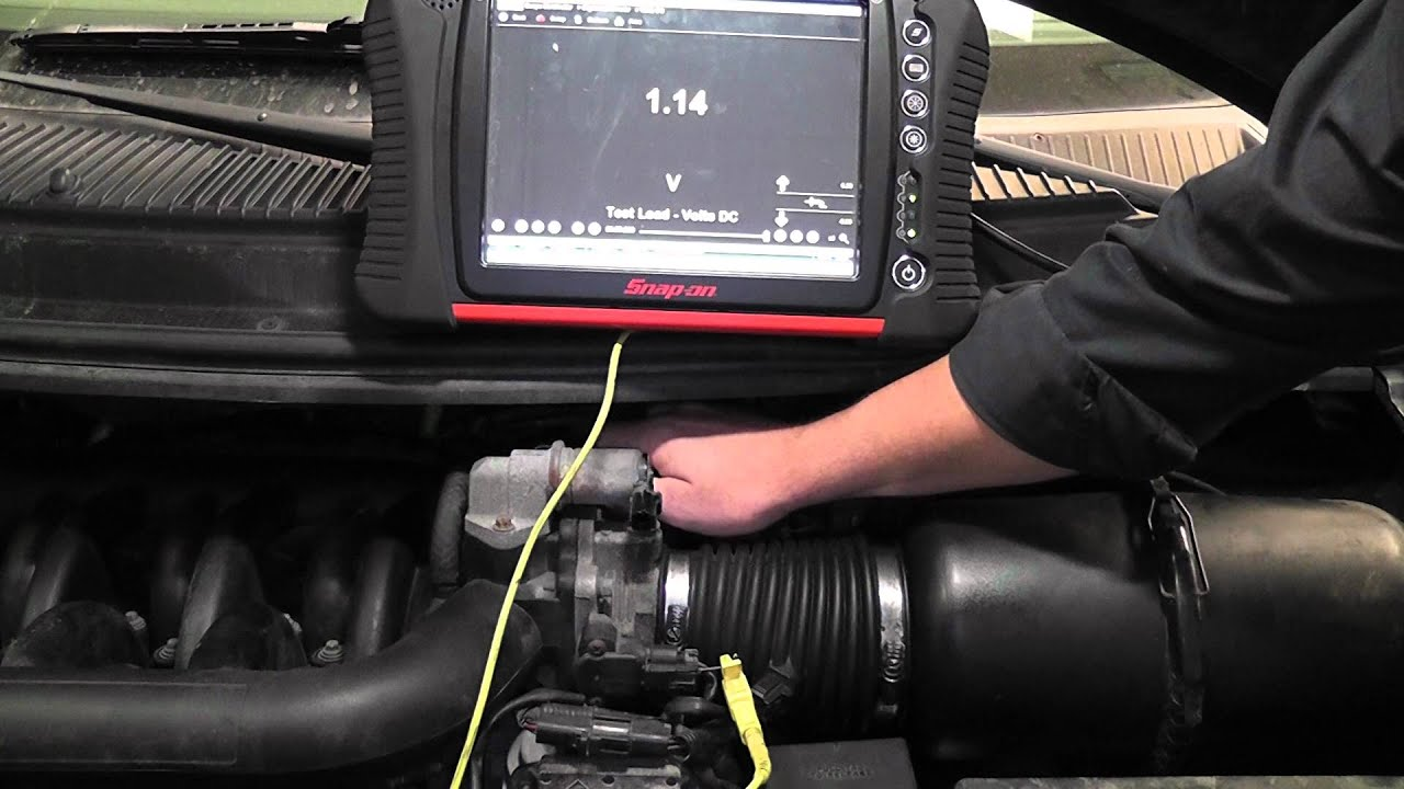 Throttle Position Sensor >> Throttle Position Sensor Test (voltmeter and scope) - YouTube