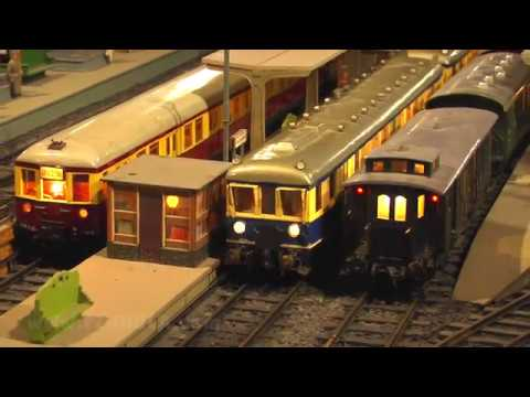 Legendäre Modellzüge und Lokomotiven der deutschen Eisenbahn bei der Modellbahn Eversum in Spur 0