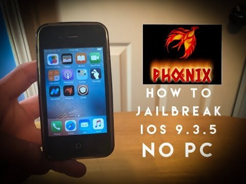 How To Jailbreak iOS 9 3 5 With No Computer / PC! (Fixed)