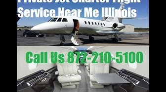 Private Jet Air Charter Flight Service To or From Chicago, Aurora, Peoria, Rockford, IL Empty Leg
