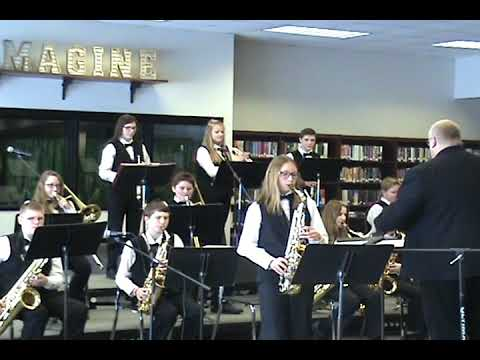 Shawano Community Middle School Jazz Band (2019)