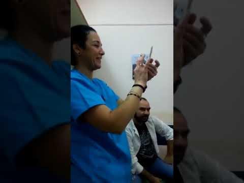 Γλέντι γιατρών και νοσηλευτών στο νοσοκομείο Μυτιλήνης (2)