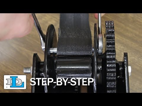 Installing Strap on WG2000 Worm Gear Winches - Step-By-Step