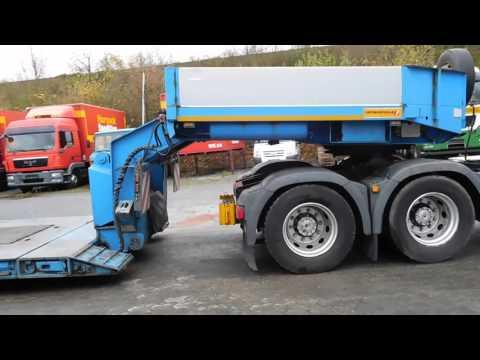 Faymonville Megamax STBZ-3VA Tiefbett Tieflader Bargen Nutzfahrzeuge Bad Salzuflen