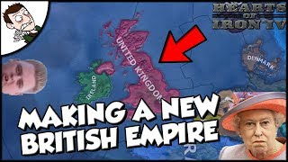 Trying to Make a New British Empire on Hearts of Iron 4 HOI4 Modern Day Mod