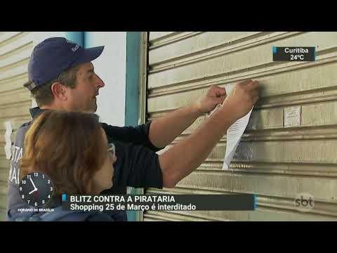 Prefeitura de São Paulo interdita shopping da 25 de março | SBT Brasil (11/09/17)