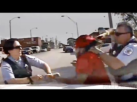 Female cop beaten by suspect she feared shooting