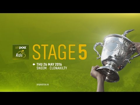 AN POST RÁS 2016 - STAGE 5 HIGHLIGHTS