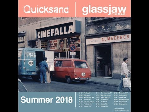 Quicksand and Glassjaw announced a summer co-headlining tour..