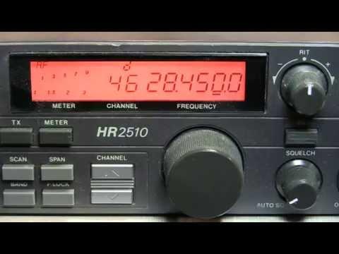 #176: Uniden / President HR2510 10m transceiver repair - won't transmit