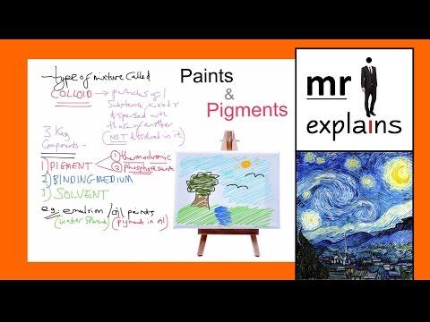 mr i explains: Paints and Pigments (for GCSE Chemistry)