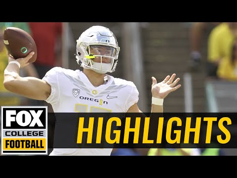 Nebraska vs Oregon | Highlights | FOX COLLEGE FOOTBALL