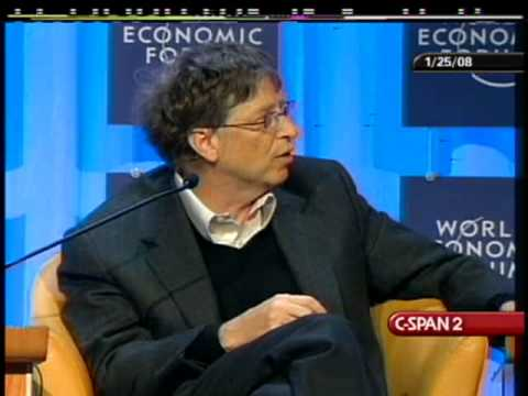 The Responsibility for Developed Countries to Help Developing Countries: Bill Gates (2008)