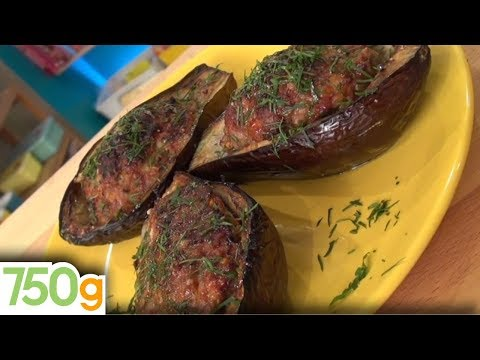 recette-d'aubergines-farcies---750g