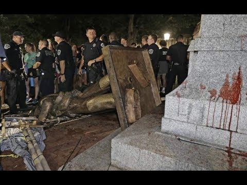 BREAKING! Silent Sam Taken Down!