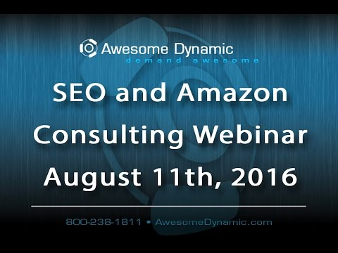 Local and National Amazon & SEO Consulting Company