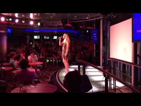 Becky Harris - The Rose - Cruise Karaoke