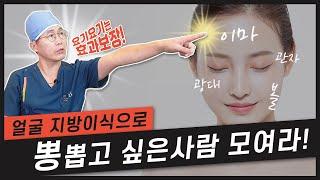 2탄) 얼굴지방이식으로…