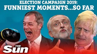 General Election 2019: Funniest moments on the campaign trail... so far