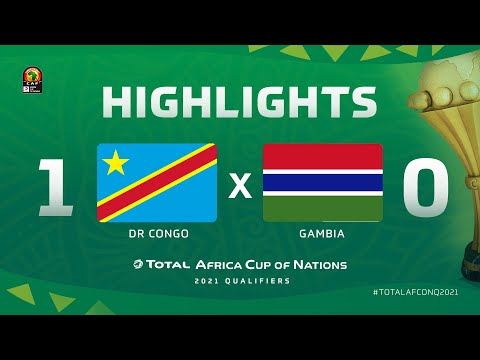 HIGHLIGHTS   #TotalAFCONQ2021   Round 6 - Group D: DR Congo 1-0 Gambia
