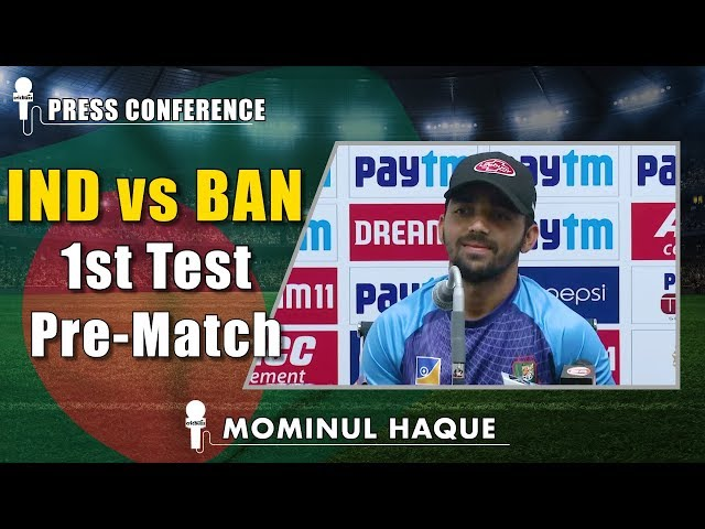 We are not under any pressure to win: Mominul Haque