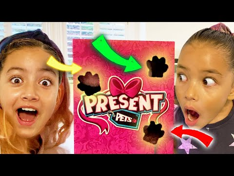 How Does This Unbox Itself? Present Pets Reaction Video