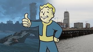 Fallout 4: Real-Life vs. In-Game Boston