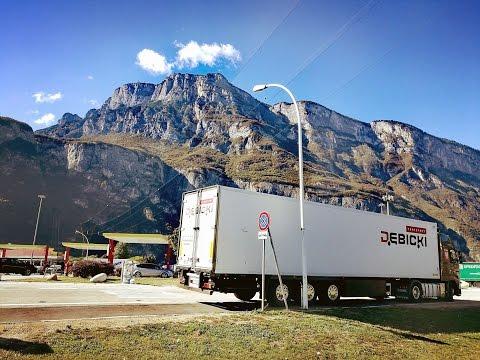 #truckerslifestyle s01 cz.16/17 || #Artdrive (44) WŁOCHY, CHŁODNIA, WEEKEND TIROL (AUSTRIA)