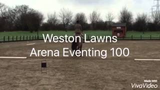 Weston Lawns 100 Arena Eventing - India Pover & Baydale Jupiter 31/1/16