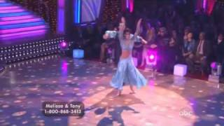 Melissa Rycroft and Tony Dovolani Dancing with the stars Waltz