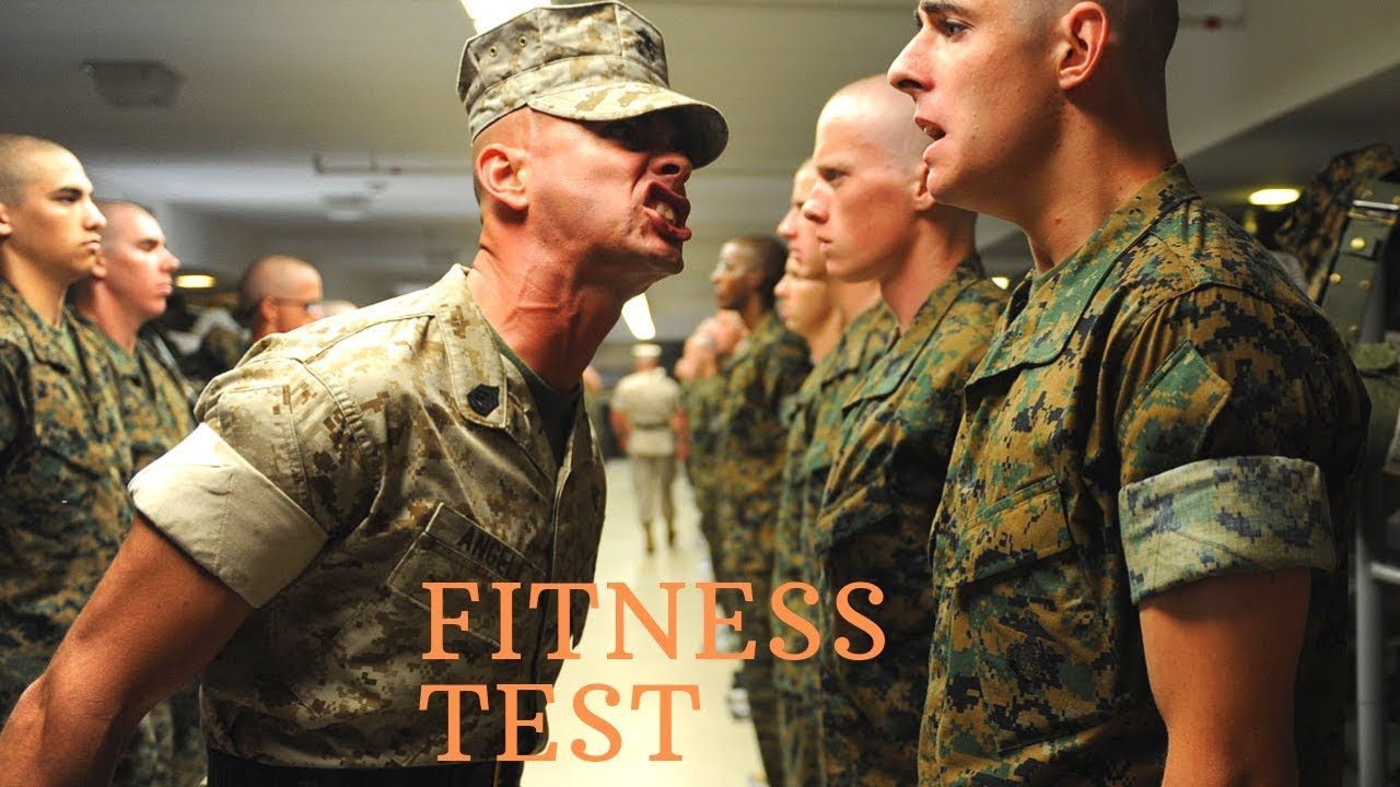 Military fitness test canada
